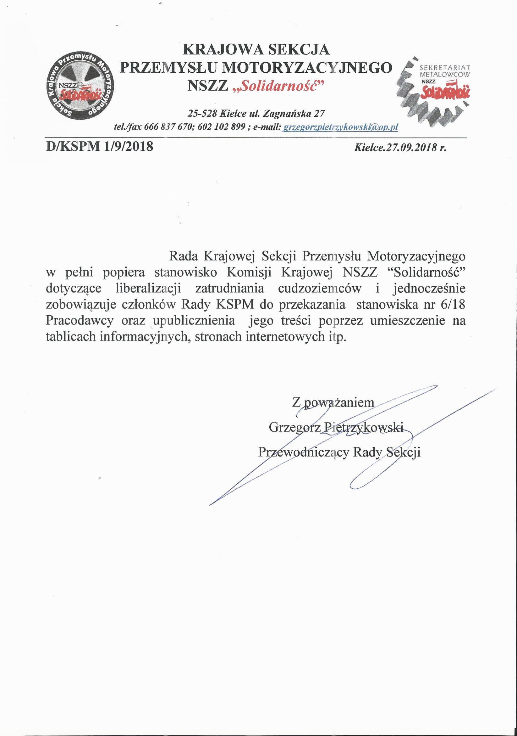 Dezyzja Rady 1.9.2018-1