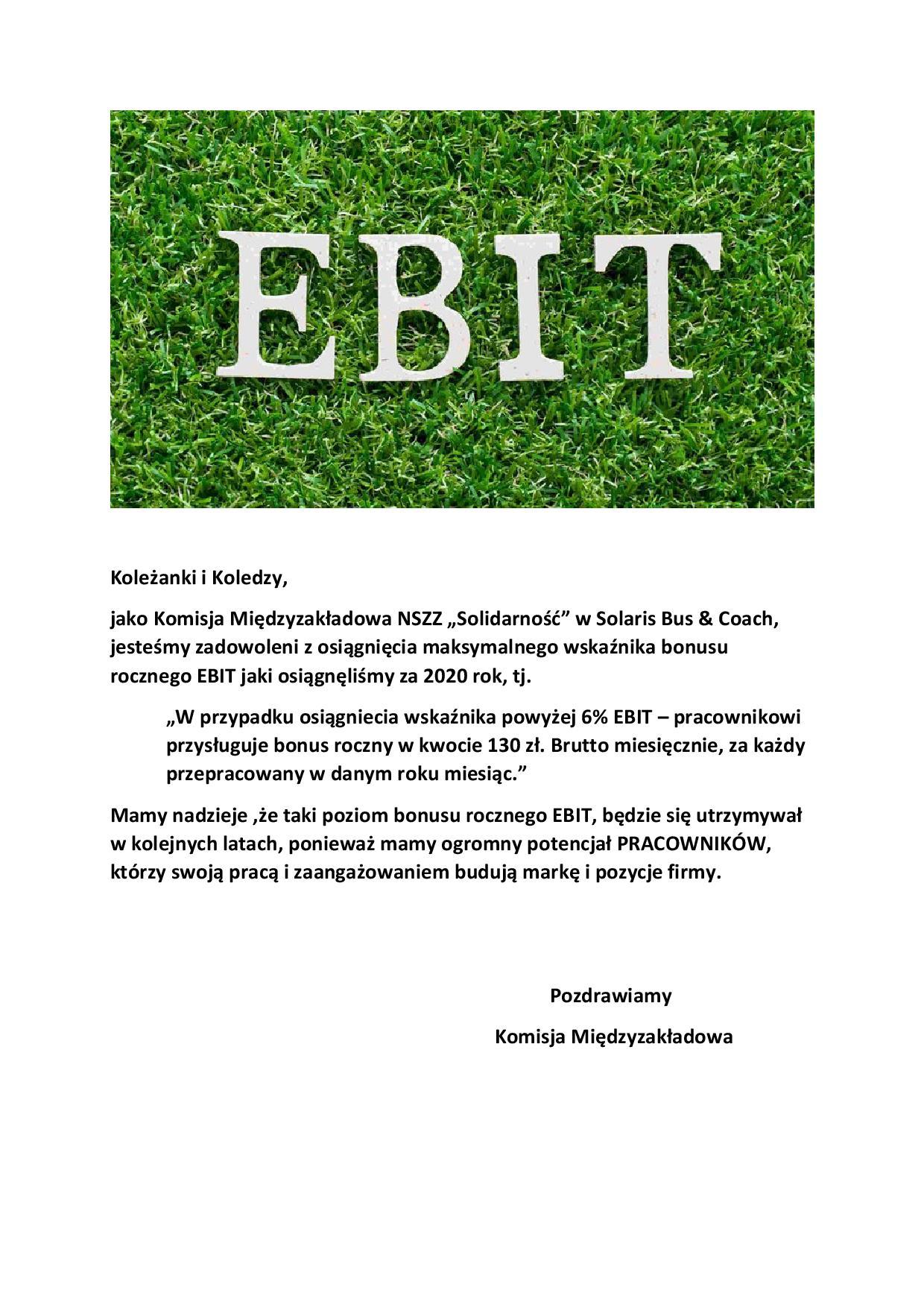 EBIT 2020
